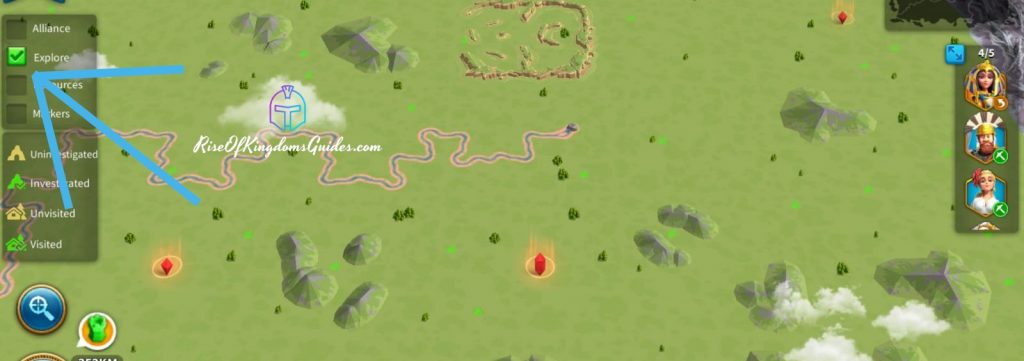 Exploring Mysterious Cave and Tribal village Rise of Kingdoms
