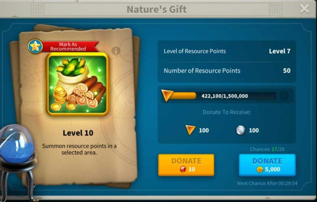 Alliance Technology Donation in Rise Of Kingdoms to earn individual credits