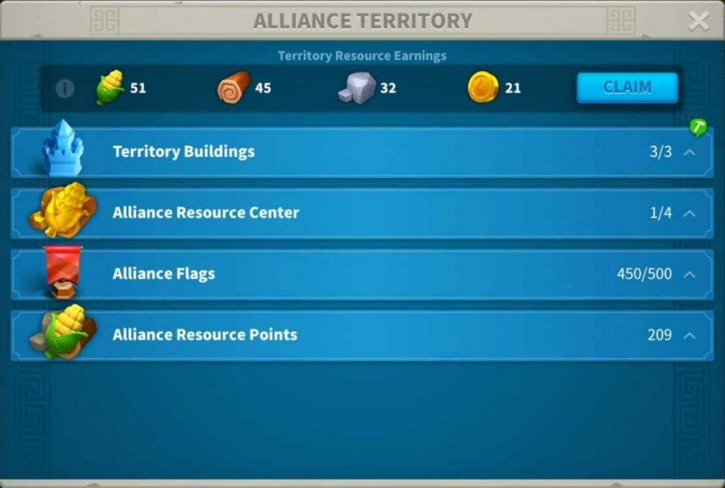 Rise of Kingdoms Alliance credits spending