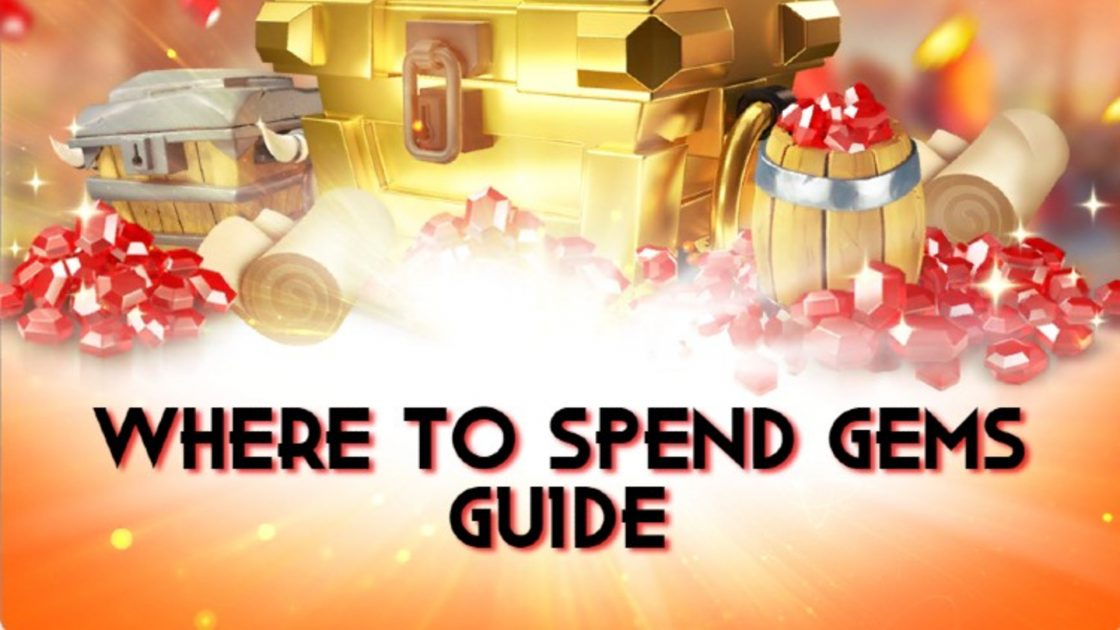 Where to spend gems in Rise Of Kingdoms