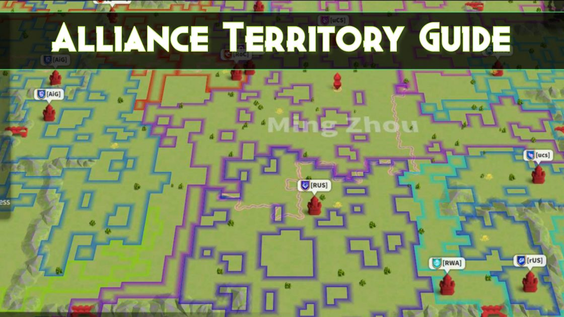 Alliance Territory Guide Rise Of Kingdoms Guides