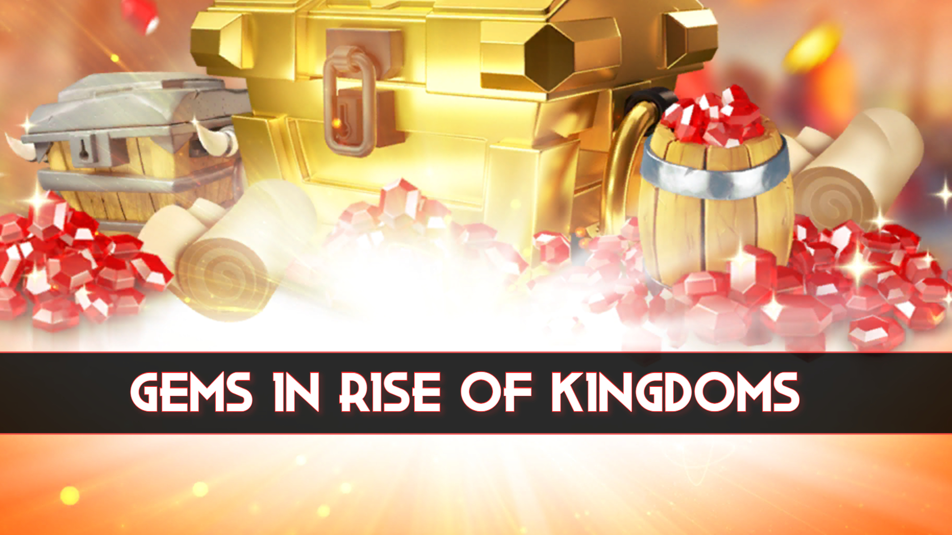 how to get gems in rise of kingdoms