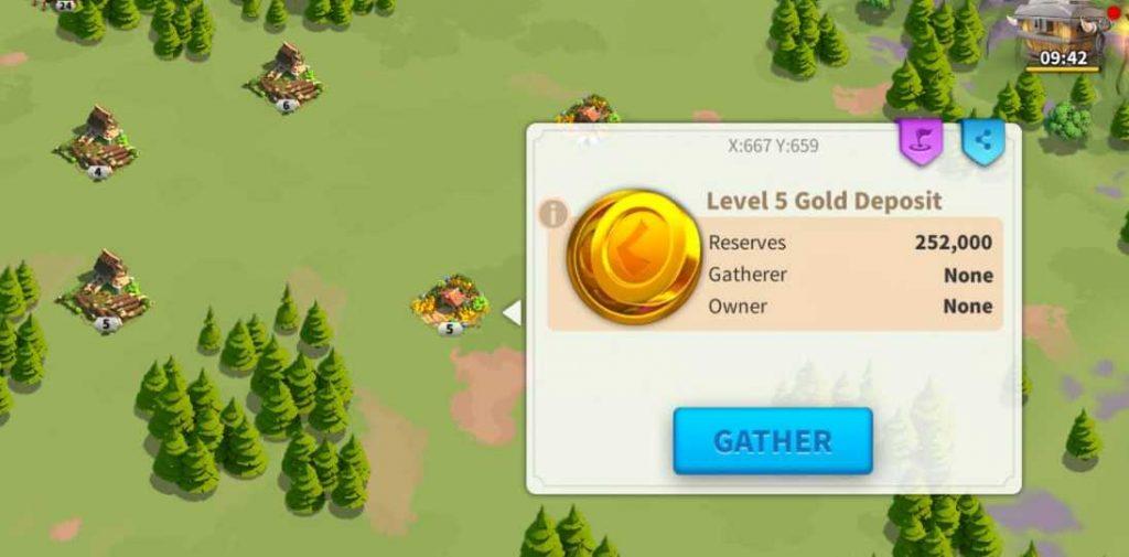 Rise Of kingdoms gold farm