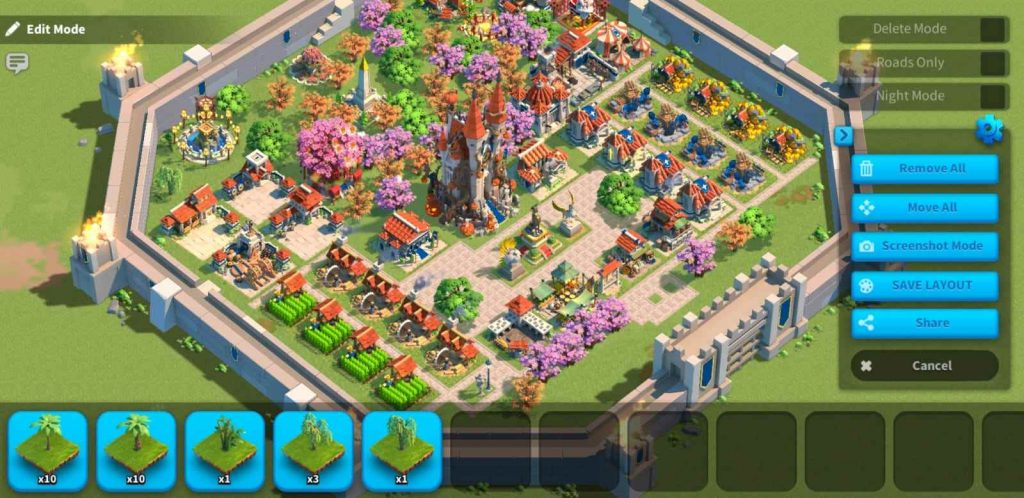 Rise Of Kingdoms City Layout