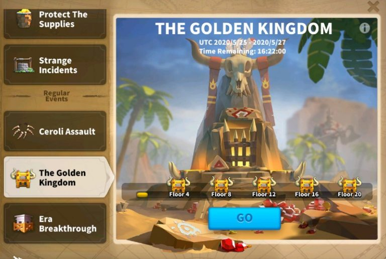 Rise Of Kingdoms Golden Kingdom