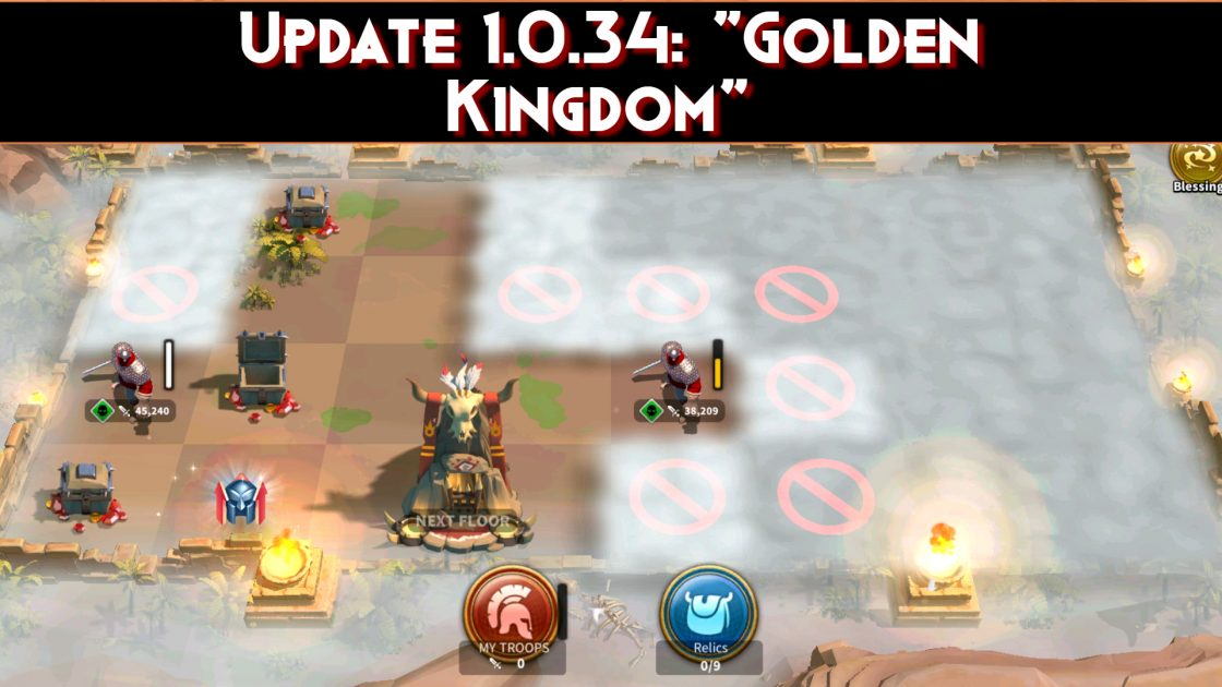 Rise Of Kingdoms Update 1.0.34_ _Golden Kingdom_