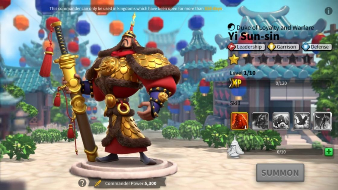 Yi Sun-Sin Talent Tree Builds And Pairs