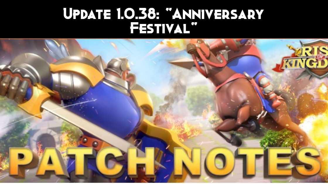 Update 1.0.38: Anniversary Festival