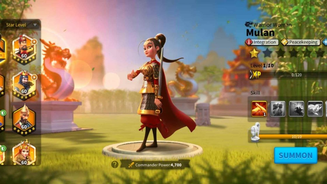 Best Mulan Tree Builds And Pairs