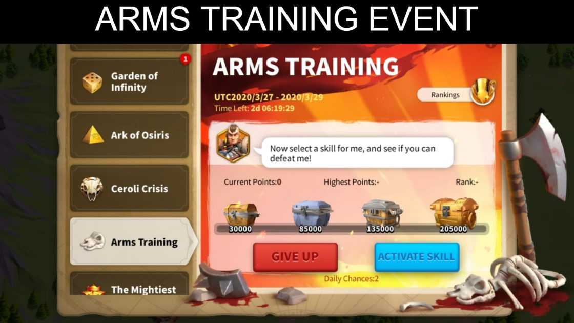 Best Arms Training Event Guide Updated