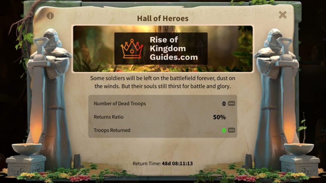 Heroic Anthem KVK Hall of Heroes