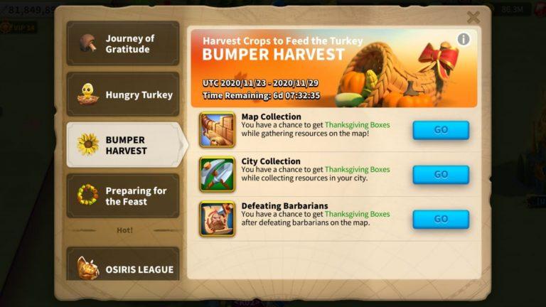 Rise Of Kingdoms Hungry Turkey Farm
