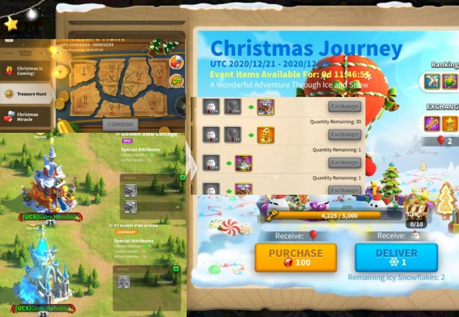 Christmas Events in ROK Guide