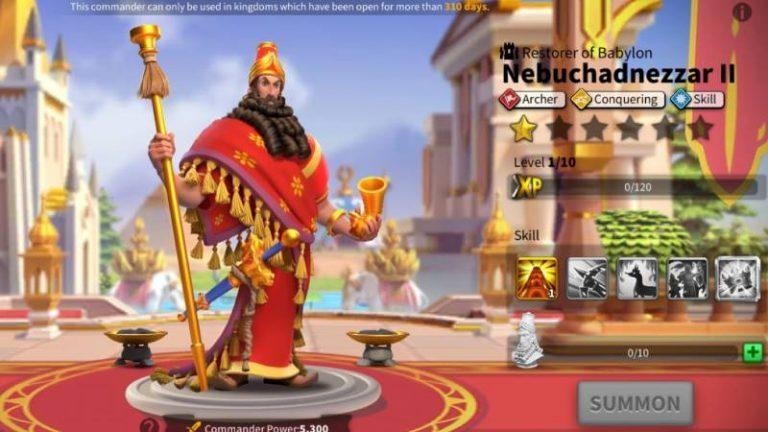 Nebuchadnezzar II Talent Trees
