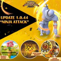 Update 1.0.44: Ninja Attack