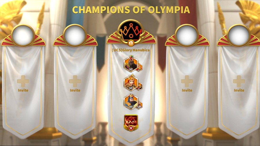 Champions of Olympia Guide in ROK