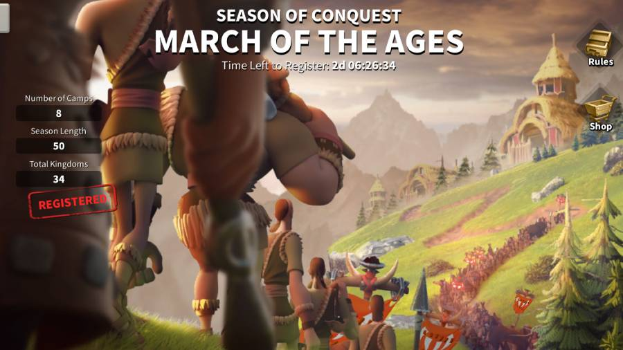 March Of The Ages Guide ROK