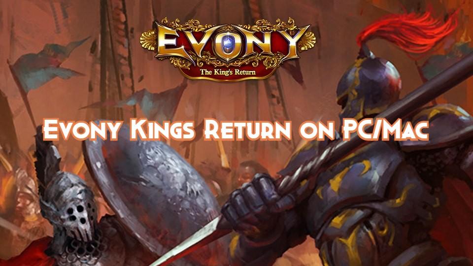 Evony Kings Return on Pc Download