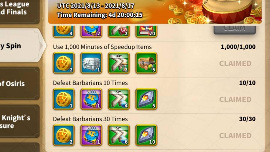 Lucky Spin Rewards 3