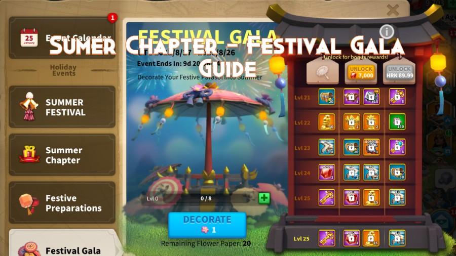 Sumer Chapter Festival Gala Guide